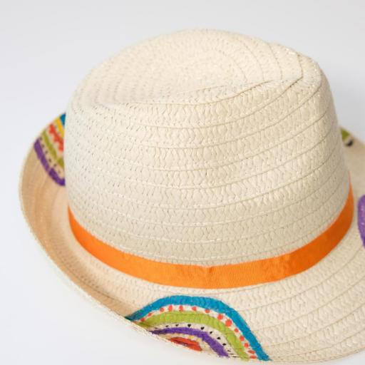 Chapeau en paille - Multicolore [2]