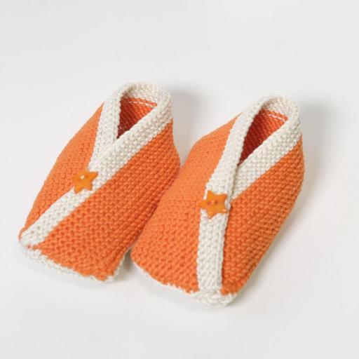 Ensemble bébé fille - Cœur orange  [3]