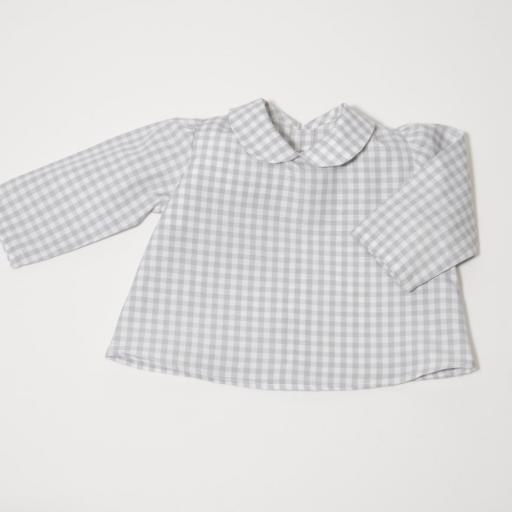Ensemblebébé fille - Gris et blanc [1]