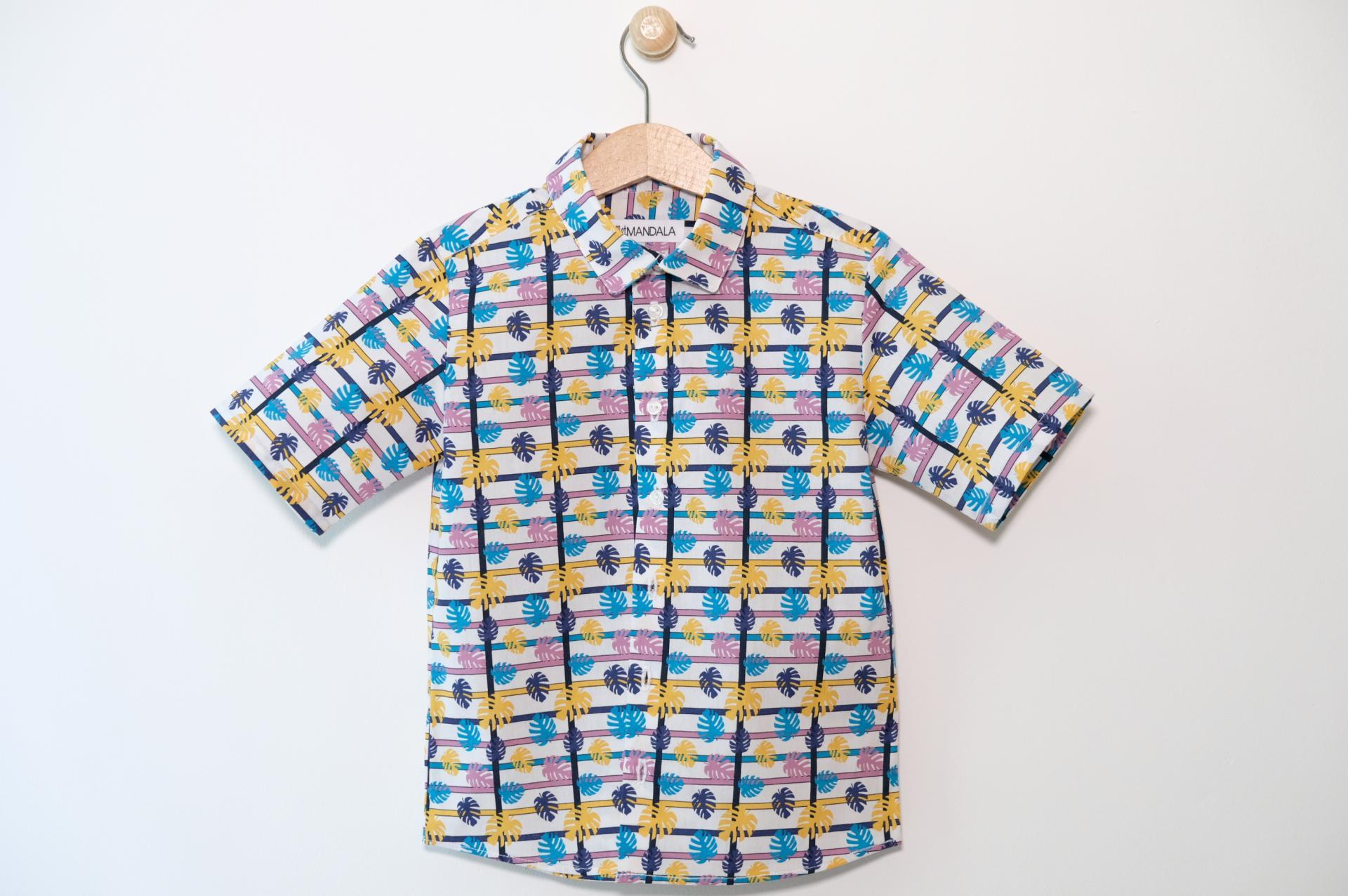 Chemise garçon - Hawaï
