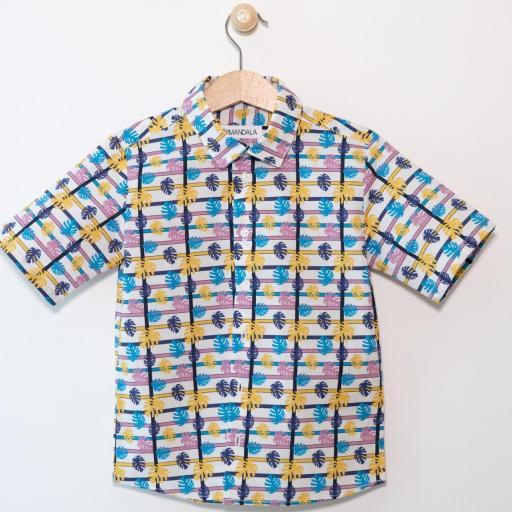 Chemise garçon - Hawaï [0]