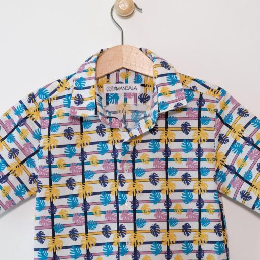 Chemise garçon - Hawaï [2]