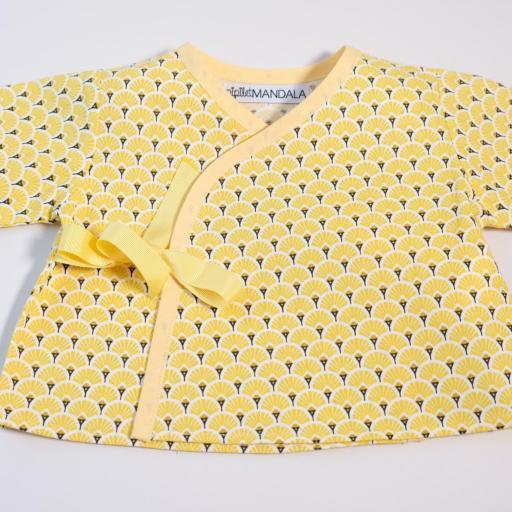 Ensemblebébé fille - Palmier jaune [2]