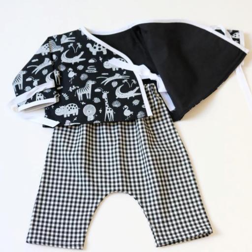Ensemble bébé garçon - Noir et blanc [1]