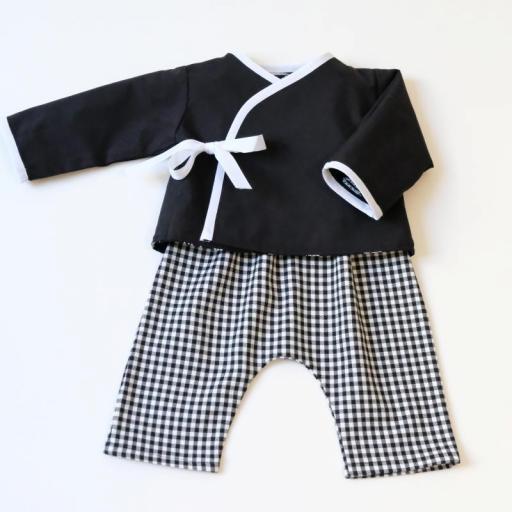 Ensemble bébé garçon - Noir et blanc [2]