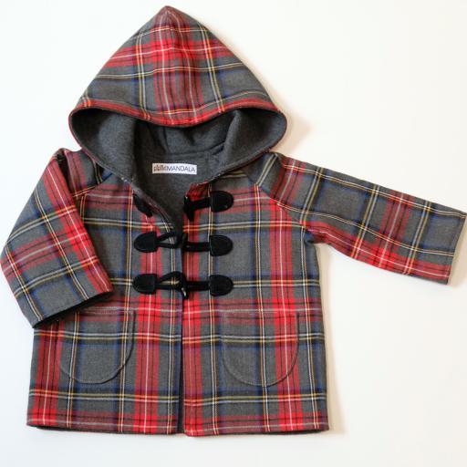 Manteau bébé écossais - Rayan