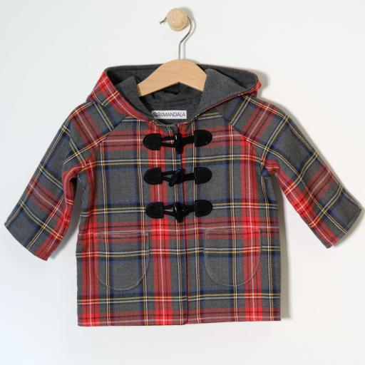 Manteau bébé écossais - Rayan [2]