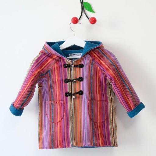 Manteau à capuche - Capucine