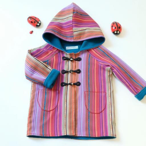 Manteau à capuche - Capucine [1]
