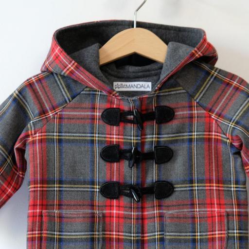Manteau bébé écossais - Rayan [3]