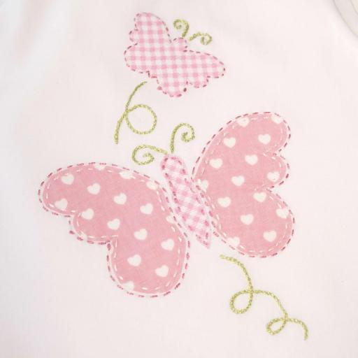 Ensemblebébé fille - Papillon rose [1]