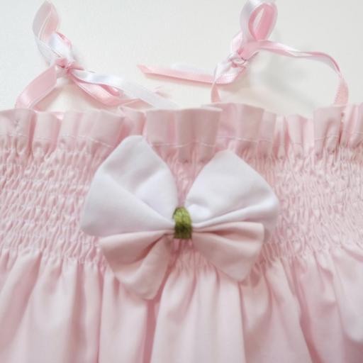 Ensemble bébé fille - Uni rose [1]