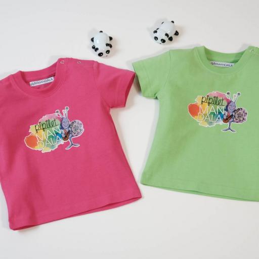 T- Shirt bébé Pipilet