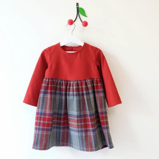 Robe écossaise fille - Maya