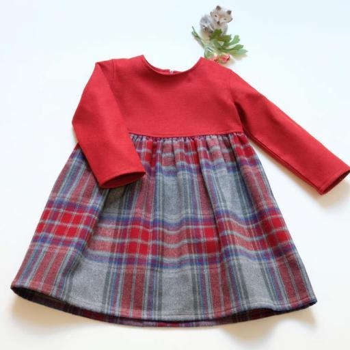 Robe écossaise fille - Maya [1]