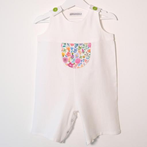 Salopette bébé - Fleuri [0]