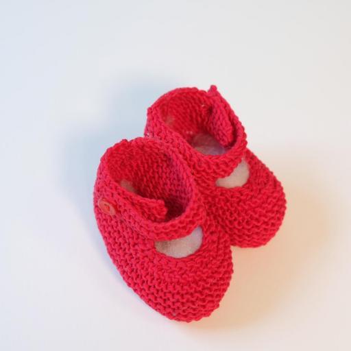 Chaussons bébé à bride boutonnée [2]