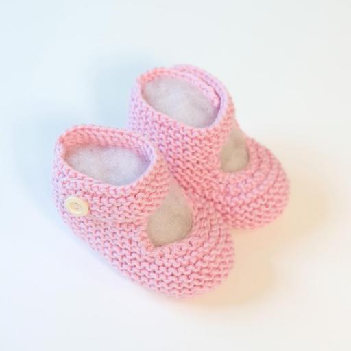 Chaussons bébé à bride boutonnée [3]