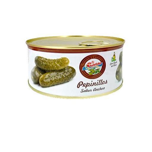 Pepinillos sabor anchoa EL CABILDO lata kilo