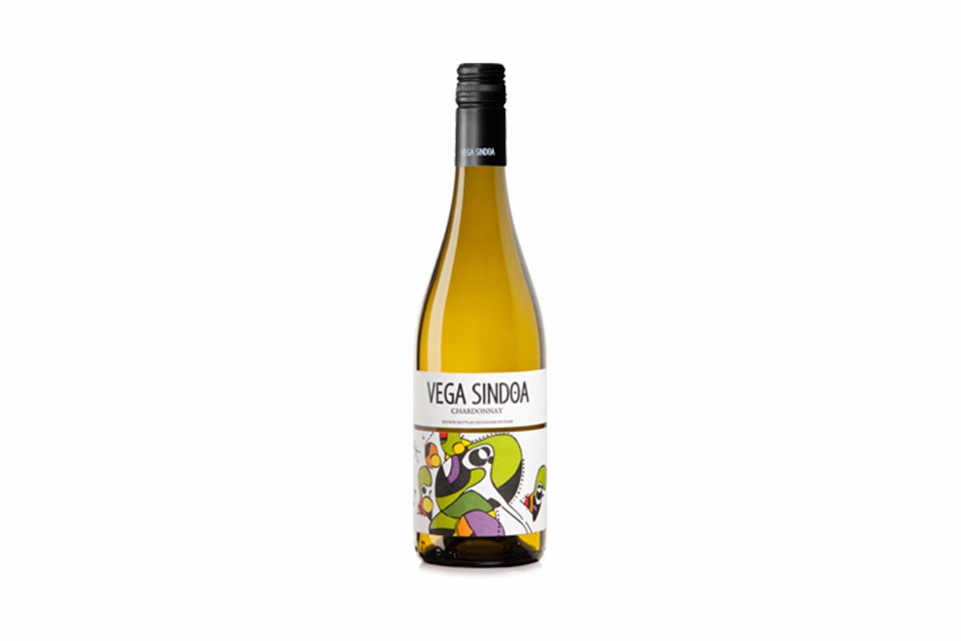 Vino Blanco 100% Chardonnay Vega Sindoa D.O. Navarra