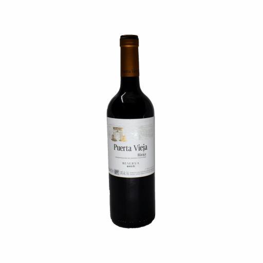 Vino Tinto Reserva Puerta Vieja D.O. Rioja