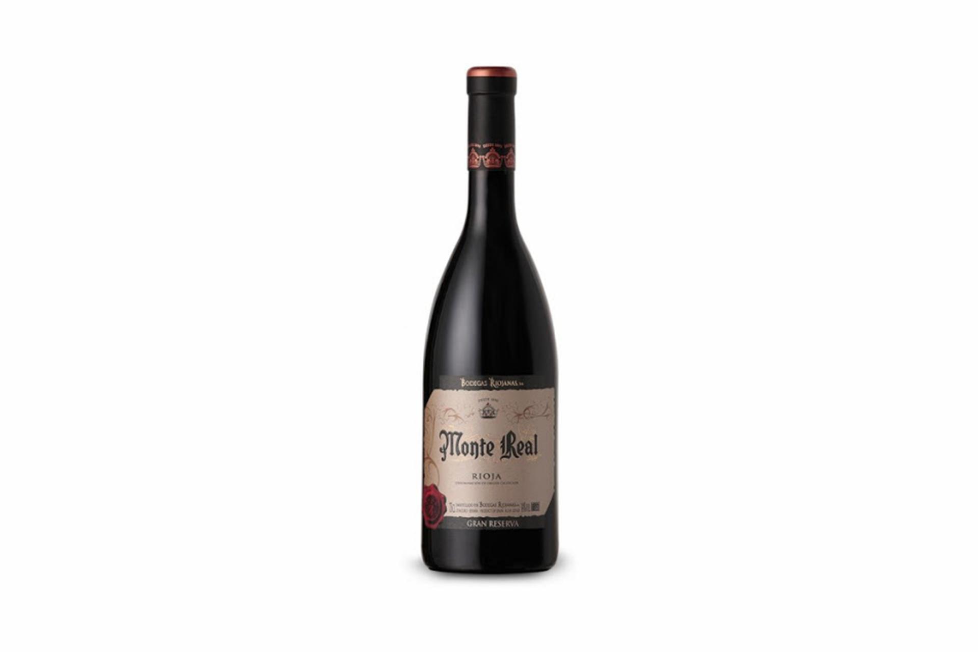 Vino Tinto Gran Reserva Monte Real D.O Rioja