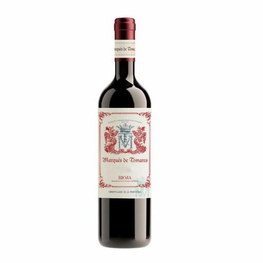 Vino Tinto Marques de Tomares Crianza D.O. Rioja