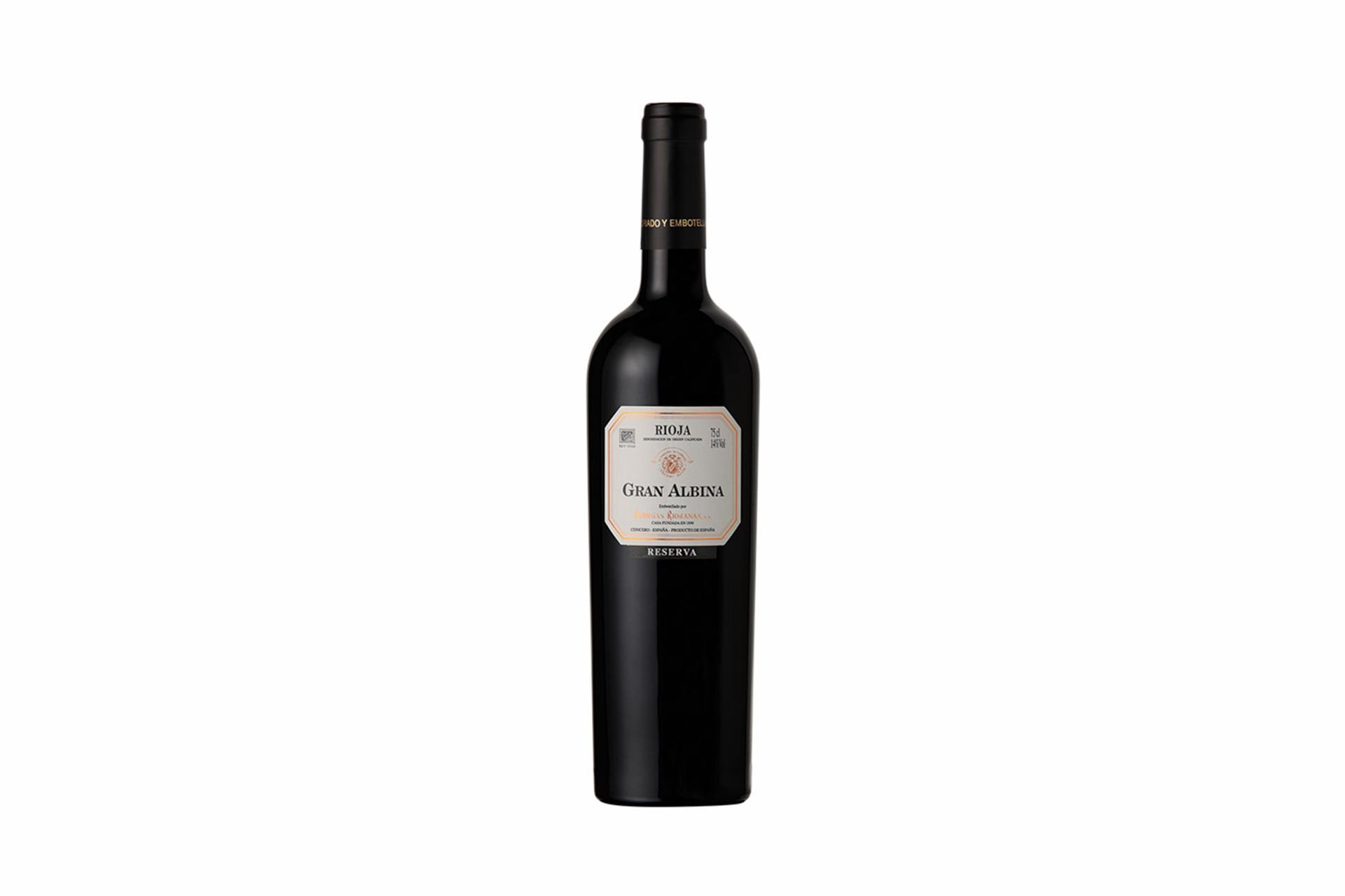 Vino Tinto Reserva Gran Albina D.O. Rioja