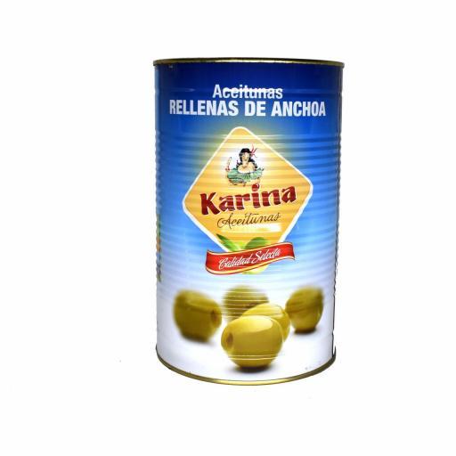 Aceitunas Rellenas De Anchoa KARINA
