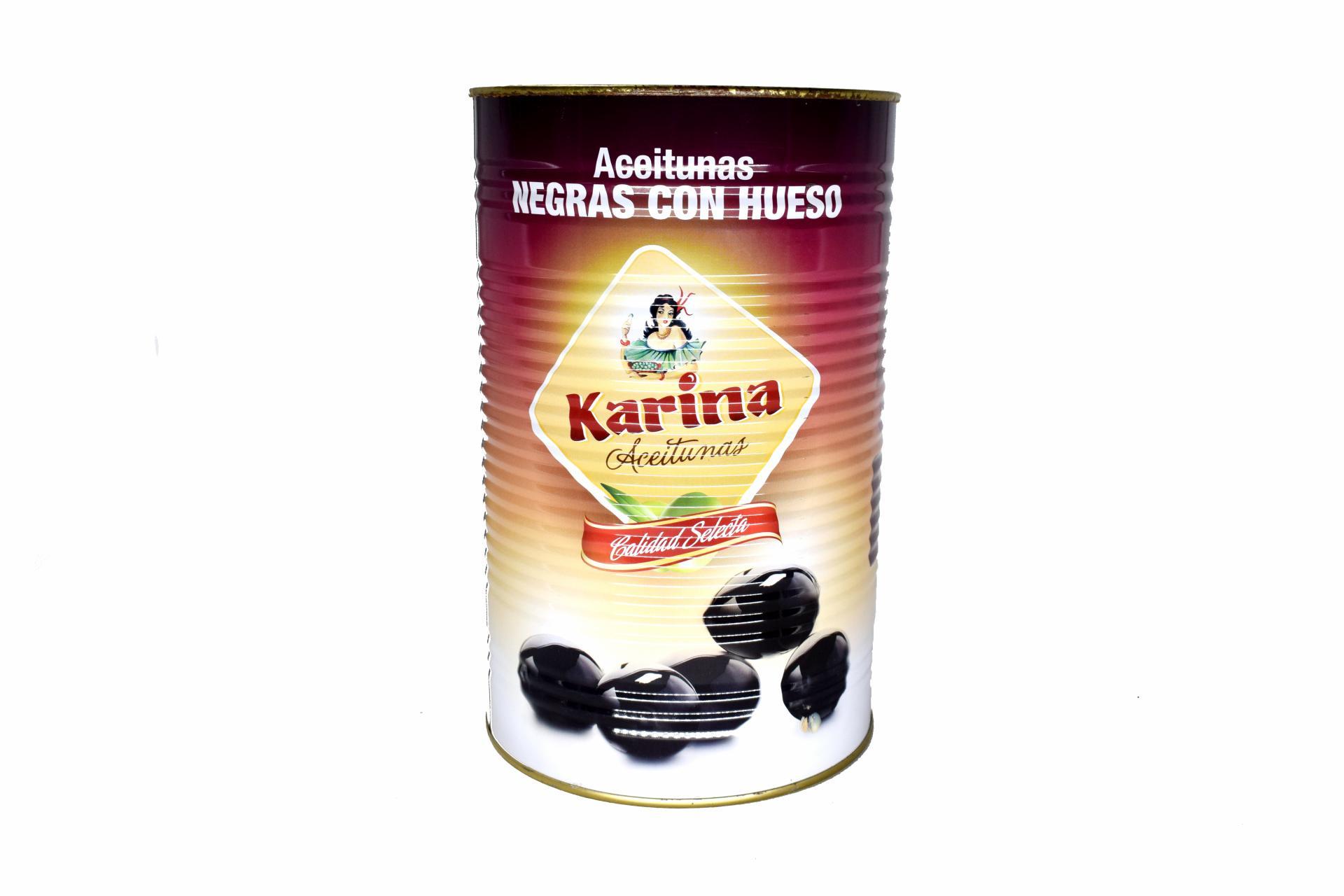 Aceitunas Negras Con Hueso KARINA