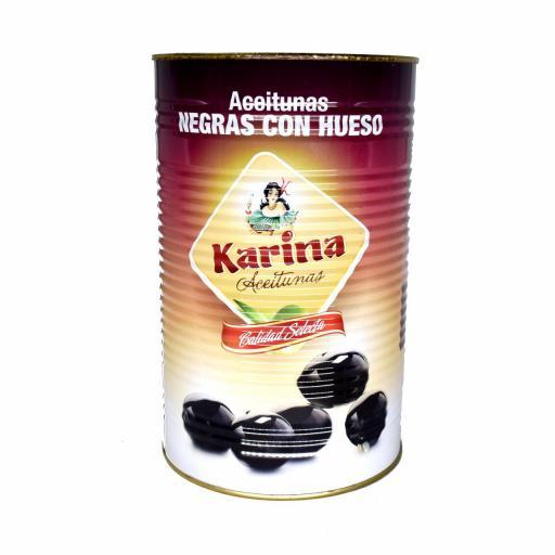 Aceitunas Negras Con Hueso KARINA [0]