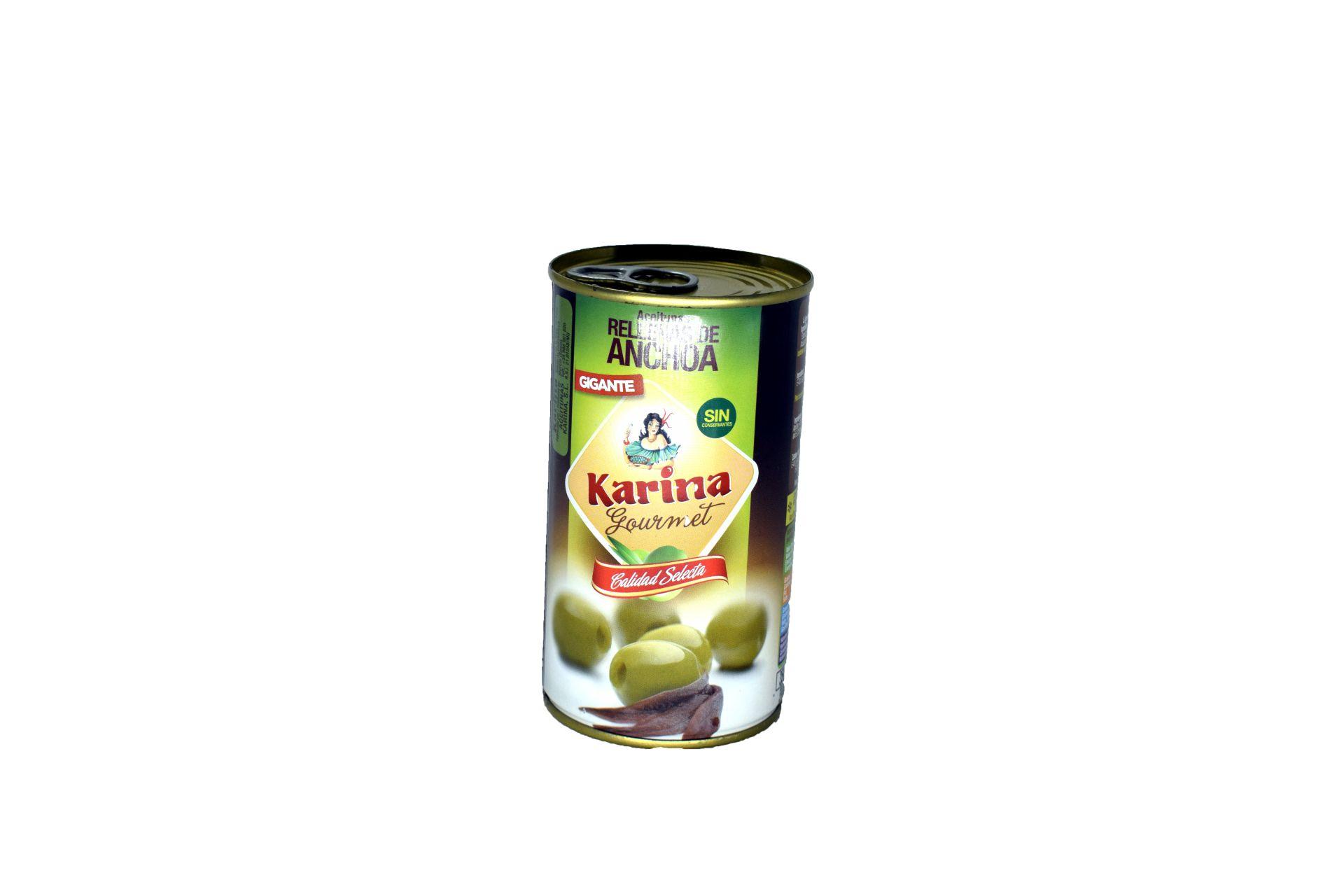 Aceituna Rellena De Anchoa Karina 150 Grs. KARINA