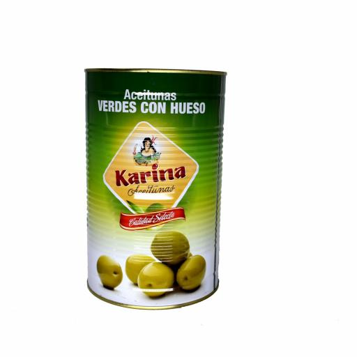 Aceitunas Verdes Con Hueso Karina