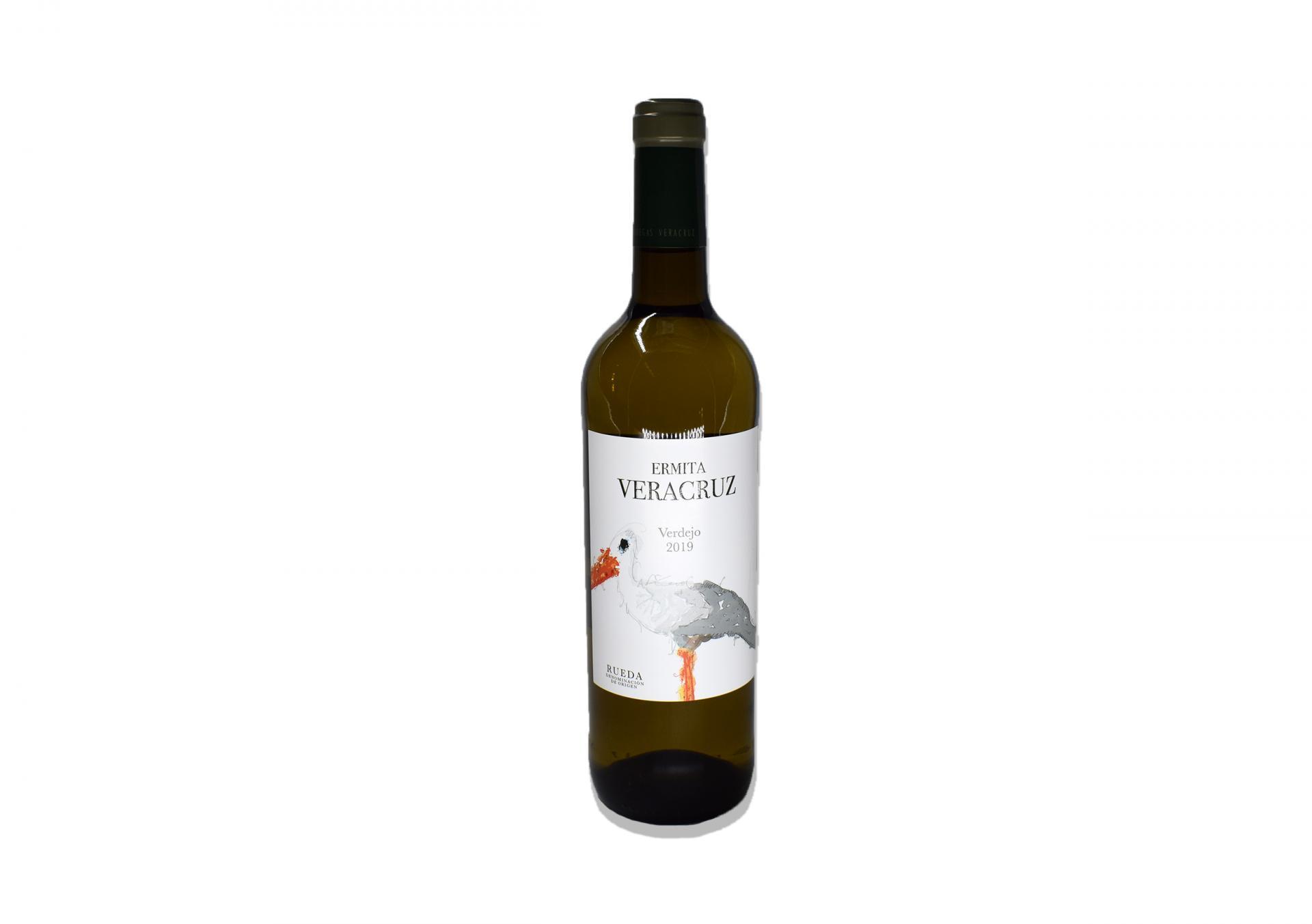 Vino Blanco 100% Verdejo Selección Ermita Veracruz D.O. Rueda