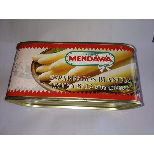 Esparrago Importacion 9/12 Mendavia lata kilo