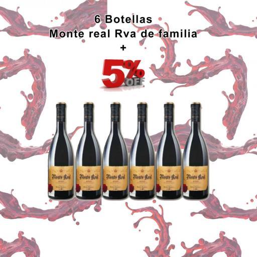 OFERTA - 6 Botellas Monte Real Rva de Familia - 5% de DESCUENTO [0]