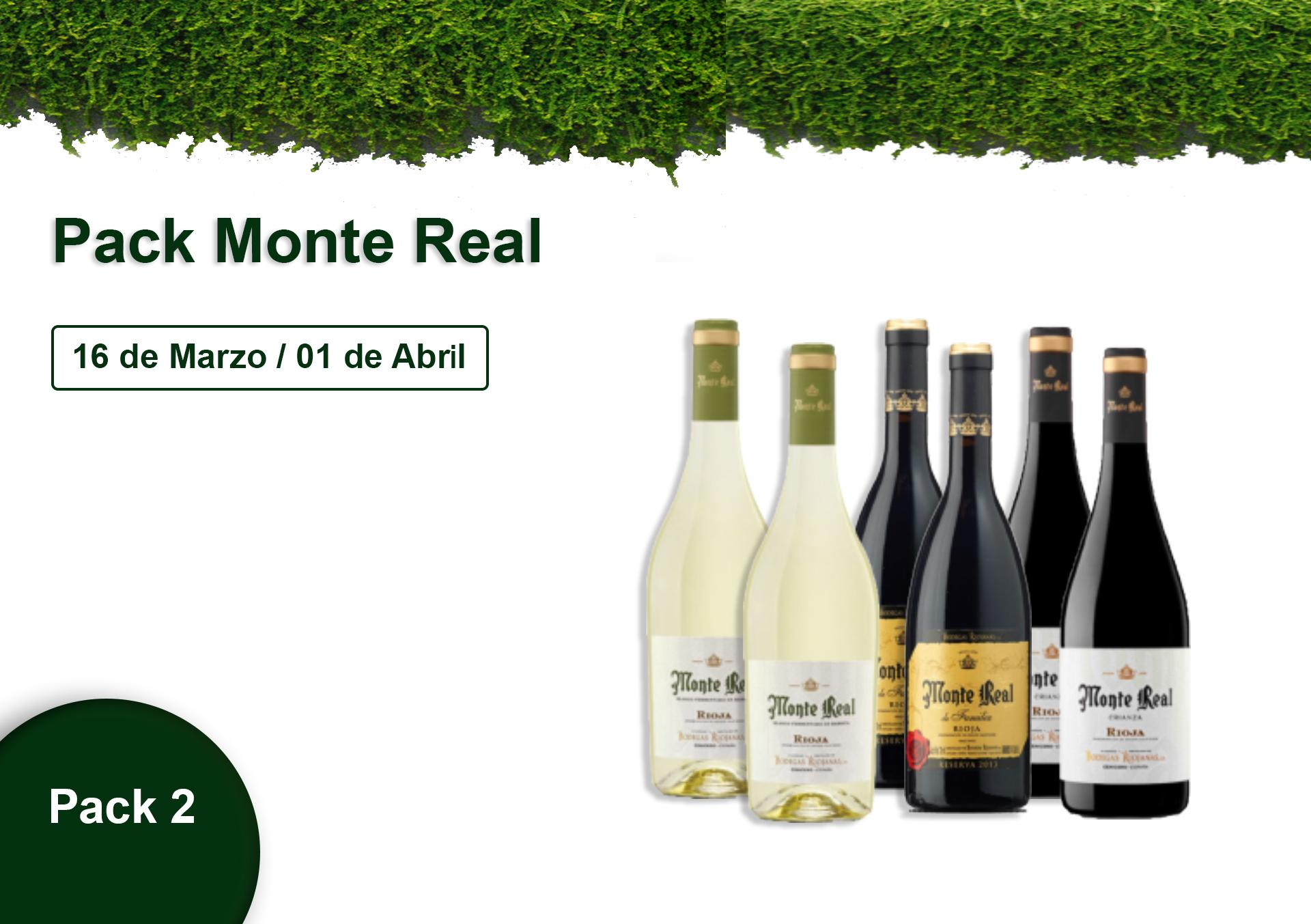 Pack 2 - Monte Real - 10% DESCUENTO