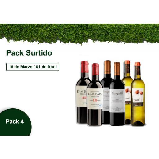 Pack 4 - Surtido - 10% DESCUENTO