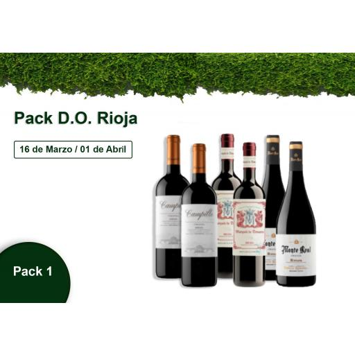 Pack 1 - Pack D.O. Rioja - 10% DESCUENTO