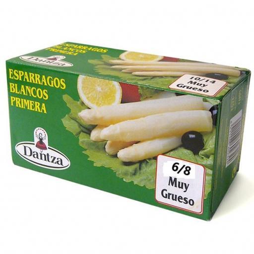 Esparrago Nacional DANTZA 1ª 6/8 Frutos lata kilo