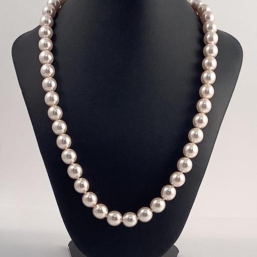 Collar perlas naturales