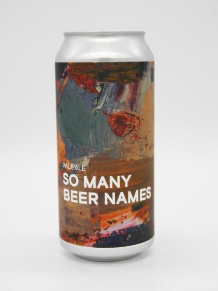 BOUNDARY - SO MANY BEER NAMES 44cl [0]