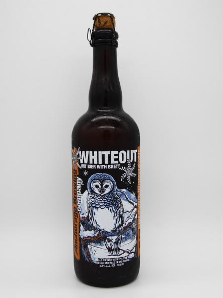 ANCHORAGE BREWING - WHITEOUT 75cl