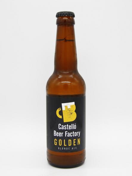 CASTELLÓ BEER FACTORY - GOLDEN 33cl