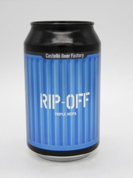 CASTELLÓ BEER FACTORY - RIP-OFF 33cl