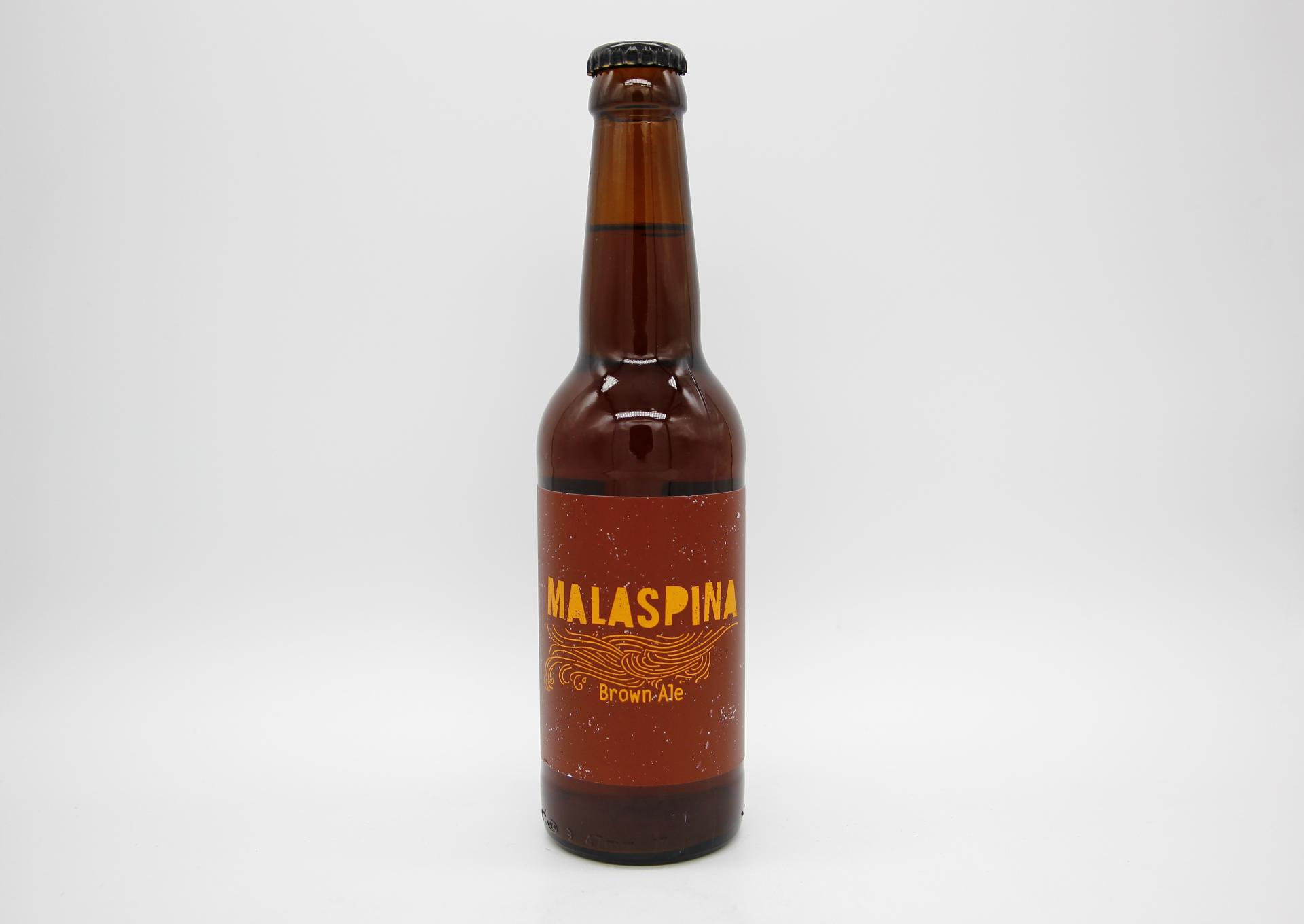 CASTELLÓ BEER FACTORY - MALASPINA BROWN ALE 33cl