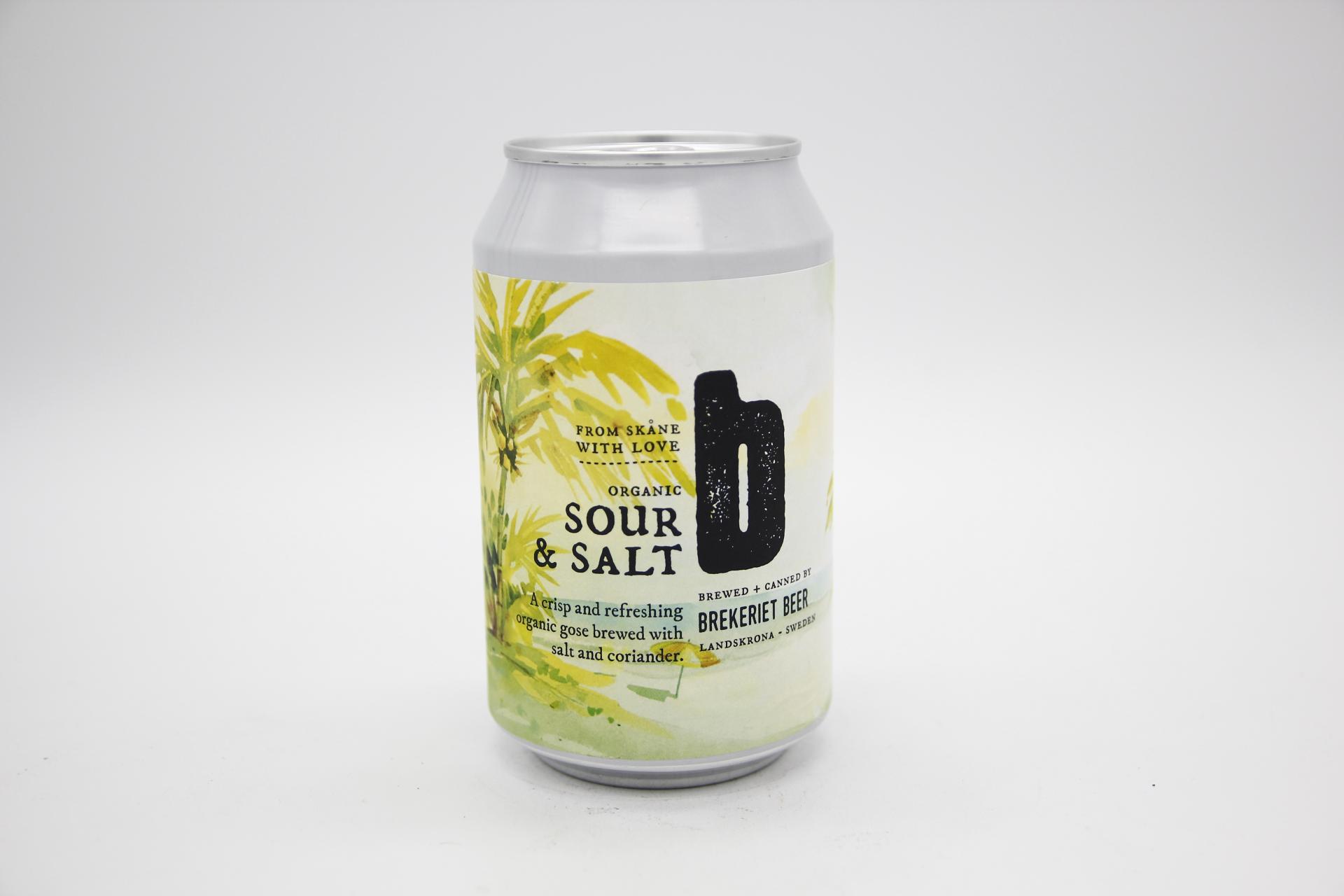 BREKERIET - SOUR & SALT (LATA) 33cl