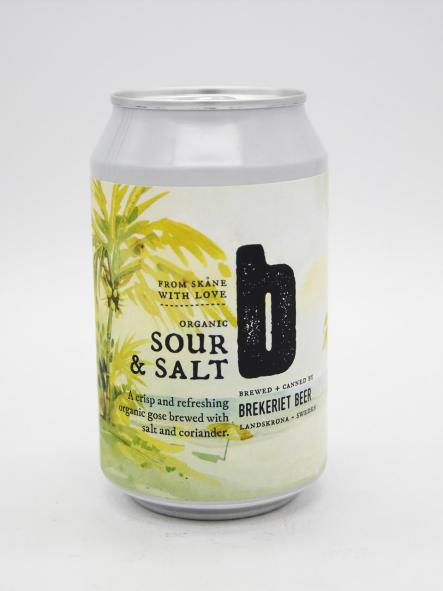 BREKERIET - SOUR & SALT (LATA) 33cl