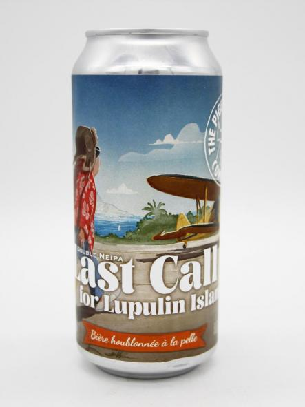 THE PIGGY BREWING - LAST CALL FOR LUPULIN ISLAND 44cl