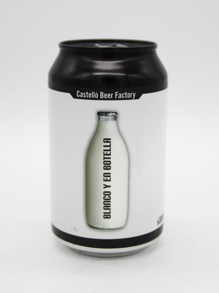 CASTELLÓ BEER FACTOY - BLANCO Y EN BOTELLA 33cl